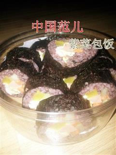 辣味紫菜包饭