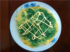 绿堤菜煎蛋