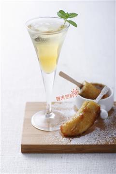 煎香蕉苹果醋饮套餐
