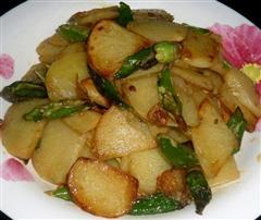 干煸尖椒土豆片