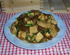 自制豆腐炖猪肉粉条