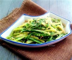 蒜蓉油麦菜