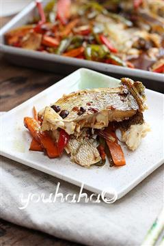 豆豉香辣烤鱼