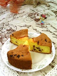 红枣鹅蛋戚风蛋糕