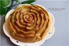 玫瑰花戚风蛋糕