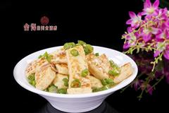 青椒自制豆腐