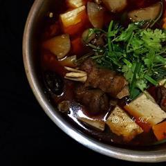 红烧羊肉汤锅