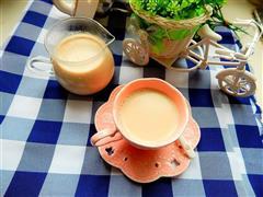 红糖姜奶茶
