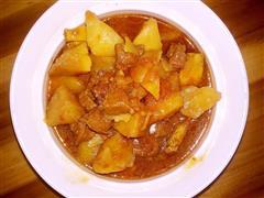 番茄土豆炖牛肉