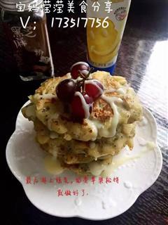 奶香苹果松饼