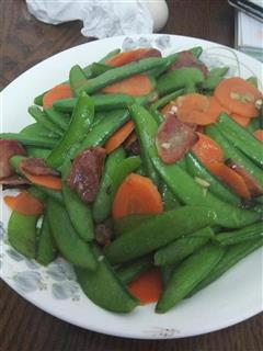 清炒甜豌豆
