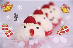 圣诞雪人蛋糕