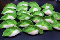翡翠饺子白菜饺子