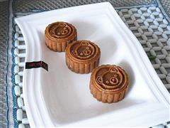 枣泥豆沙南瓜饼