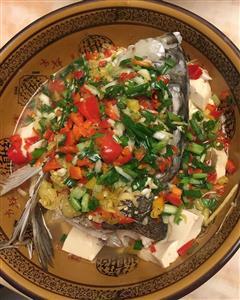 剁椒豆腐鱼头