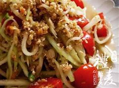 泰式青木瓜藜麦沙拉