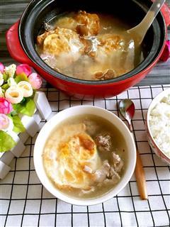 荷包蛋酸梅猪肉汤