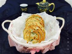 花椒叶盘丝饼