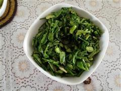 野洲芹炒蚕豆瓣