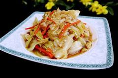芝麻椒香卷心菜