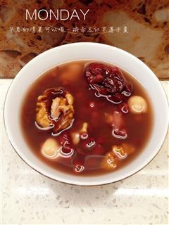 赤豆红枣莲子羹