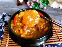 牛蹄筋炖土豆