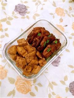 可乐豆腐鸡翅