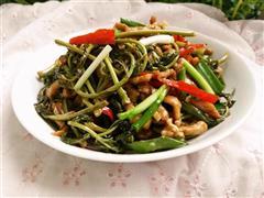 春芽菜炒肉丝