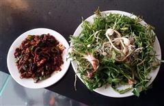 山野菜蘸酱