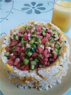 花式蛋炒饭