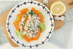 蔬菜清炒鲤鱼片