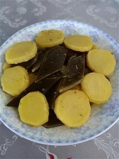 海带烧土豆