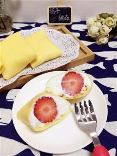 水果班戟可丽饼