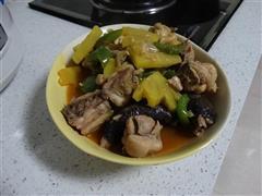甜菠萝炒鸡肉