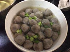 水煮牛肉丸汤