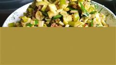 小笋酸菜炒肉泥
