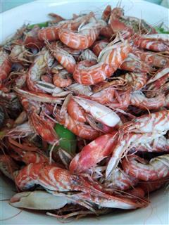 辣炒夹板虾
