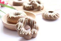 咖啡巧克力甜甜圈
