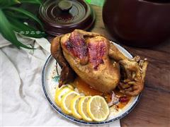 砂锅版窑鸡