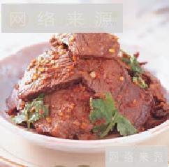 麻辣牛肉片