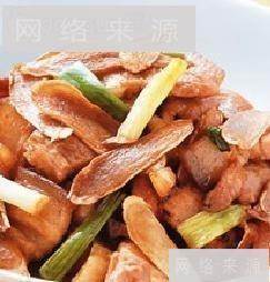 嫩姜炒三层肉