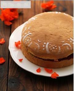 维多利亚女王蛋糕-覆盆子果酱蛋糕