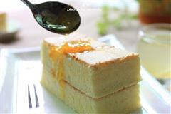 柚子酱戚风蛋糕