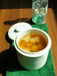 养颜润燥梨汤