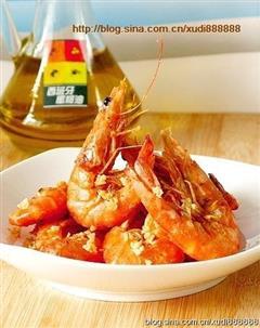 蒜香椒盐虾