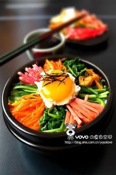 美味石锅拌饭