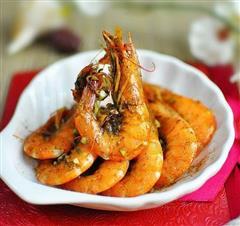 香茅椒盐虾