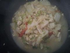 老公版白菜炖豆腐