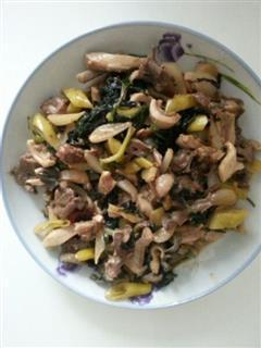紫苏清炒牛杂