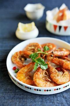 酥酥脆脆椒盐虾